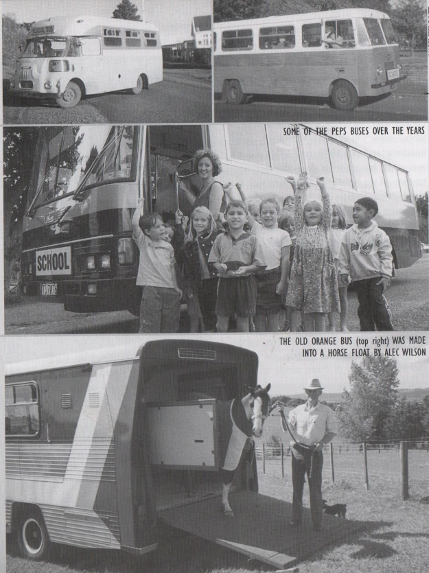 Past photos Pukekohe East School Bus