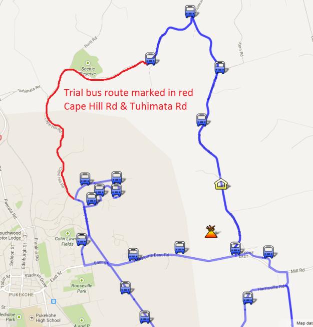 Tuhimata Rd map